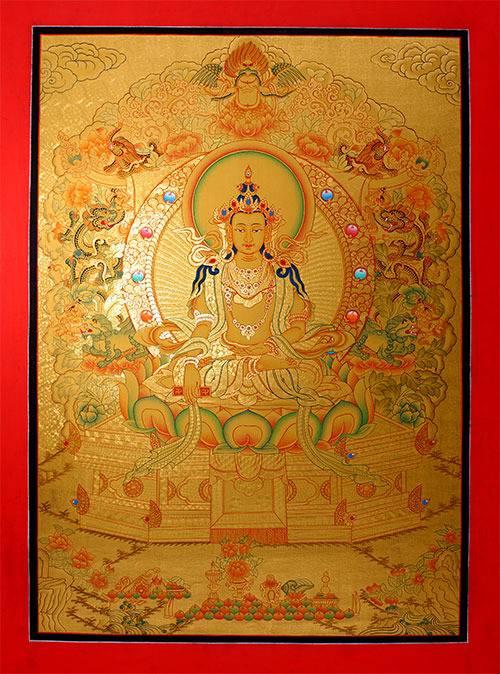 Maha Vaipulya Mahasamnipata Bhadrapala Bodhisattva Parivarta Nama Mahayana Sutra Buddha%20Tonpa%20Shenrab%20Miwoche