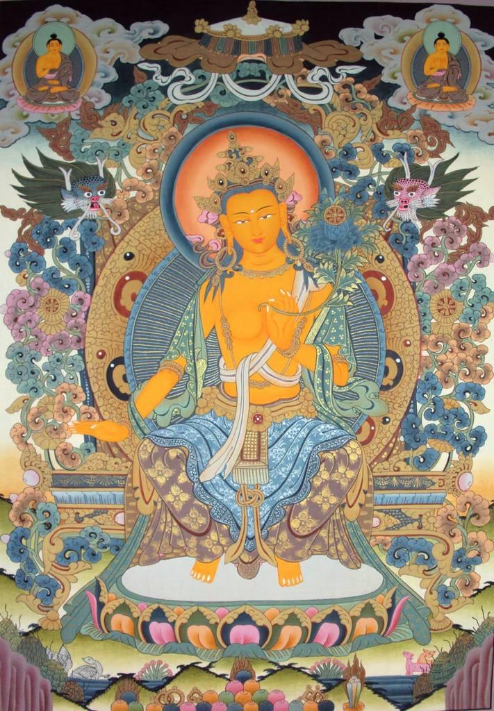 Ārya Gambhīra Samdhinirmocana Nama Mahayana Sūtra Tīkā Maitreya-34x49