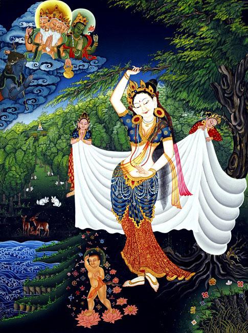 Arya Sri Lalitavistarah Maha Vaipulya Nama Dharmaparyaya Mahayana Suttram Maya-Devi_full_OP-1