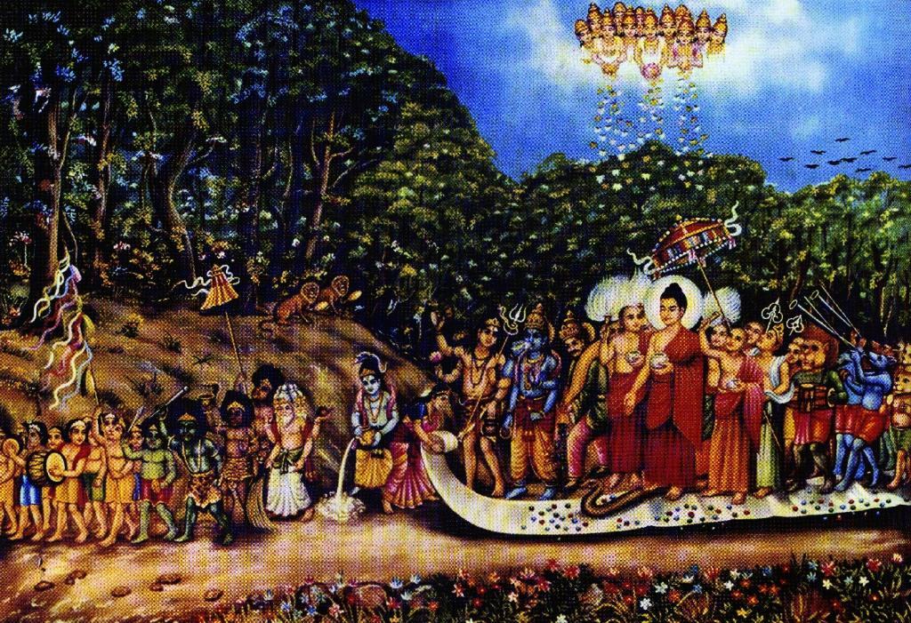 Arya Sri Lalitavistarah Maha Vaipulya Nama Dharmaparyaya Mahayana Suttram Muni