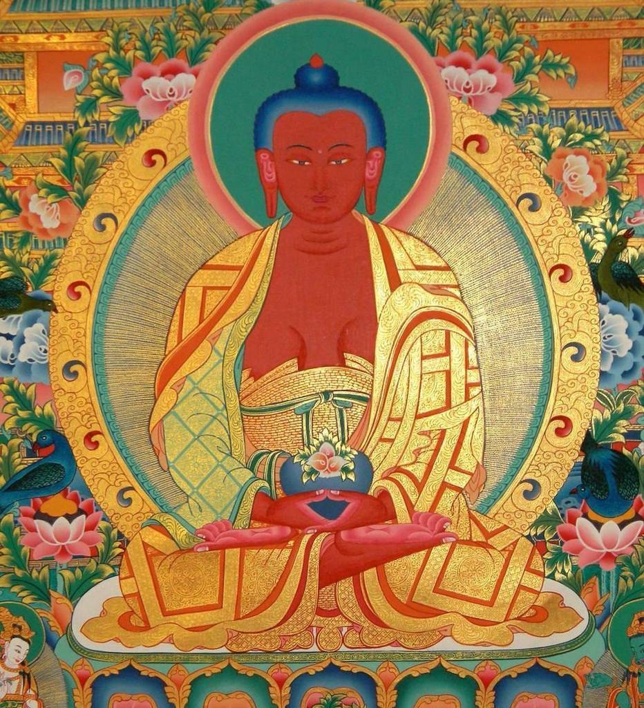 Maha Vaipulya Mahasamnipata Bhadrapala Bodhisattva Parivarta Nama Mahayana Sutra Rasmi%20Raja%20Buddha