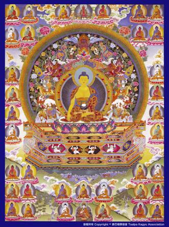 Sarva Tathāgata Mahāyānā Vajra Usnisa Abhisamaya Mahā Kalpa Rājā Yoga Tantra Sutra Sakyamuni%20Vajradhara