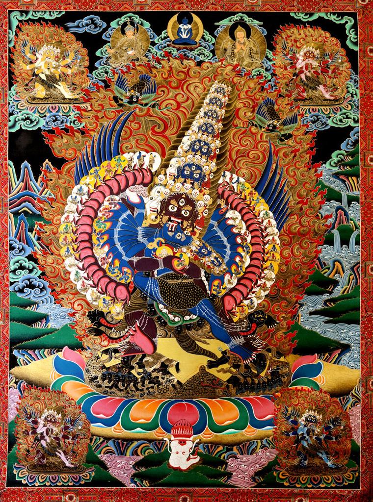 Sarva Tathāgata Mahāyānā Vajra Usnisa Abhisamaya Mahā Kalpa Rājā Yoga Tantra Sutra Sri%20Heruka