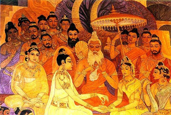 Arya Sri Lalitavistarah Maha Vaipulya Nama Dharmaparyaya Mahayana Suttram A6b