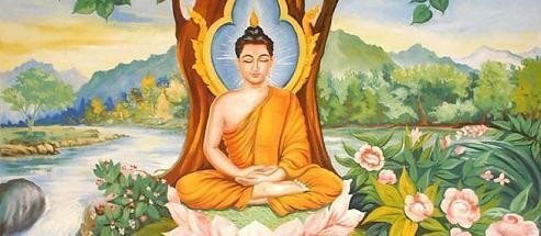 Arya Sri Lalitavistarah Maha Vaipulya Nama Dharmaparyaya Mahayana Suttram Bhudda_meditating