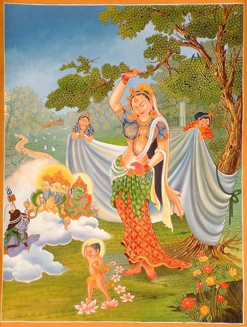 Arya Sri Lalitavistarah Maha Vaipulya Nama Dharmaparyaya Mahayana Suttram Buddhamayadevi