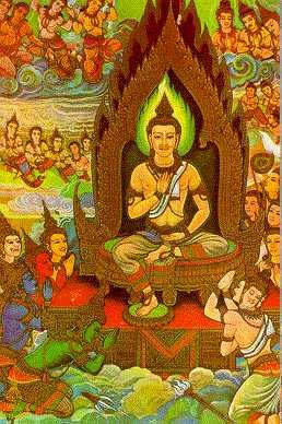 Arya Sri Lalitavistarah Maha Vaipulya Nama Dharmaparyaya Mahayana Suttram Devatusita