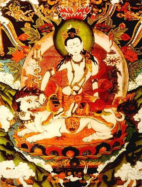 Arya Sri Lalitavistarah Maha Vaipulya Nama Dharmaparyaya Mahayana Suttram Lion0