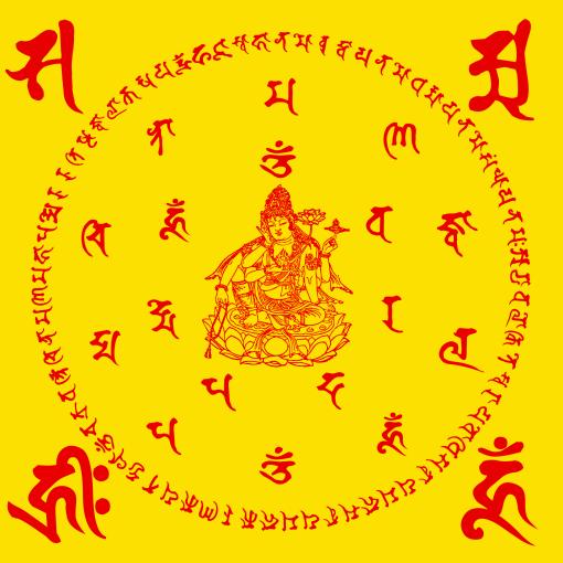 Aksobhya Tathagatasya Abhirati Vyuha Nama Mahayana Ratna Kuta Suttram Nhu-y-luan-01-vangdo