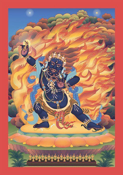 Ārya Gambhīra Samdhinirmocana Nama Mahayana Sūtra Tīkā Om%20vajrapani%20hum