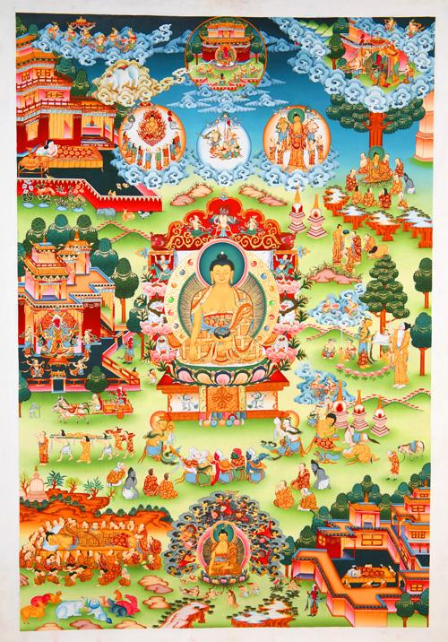 Arya Sri Lalitavistarah Maha Vaipulya Nama Dharmaparyaya Mahayana Suttram Sakya_lh