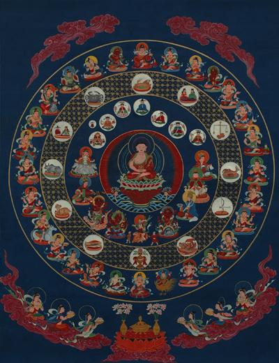 Ārya Gambhīra Samdhinirmocana Nama Mahayana Sūtra Tīkā Star_mandala1