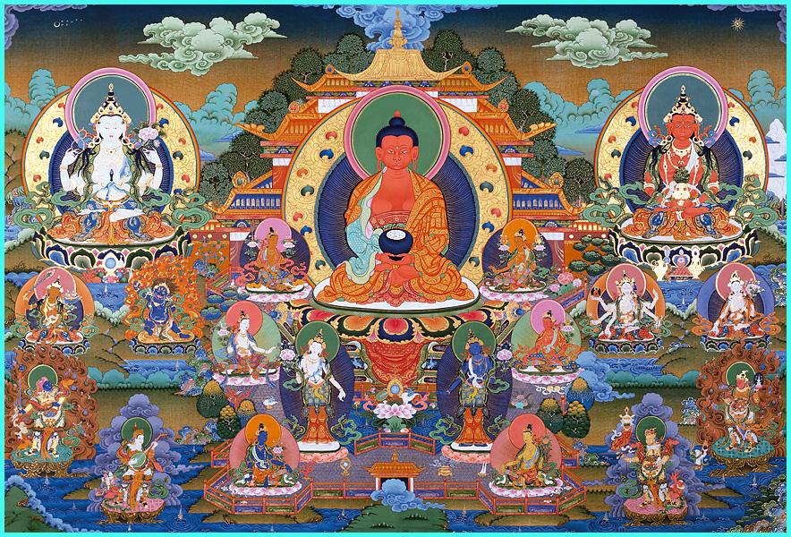 Maha Vaipulya Mahasamnipata Bhadrapala Bodhisattva Parivarta Nama Mahayana Sutra Sukhavati_6