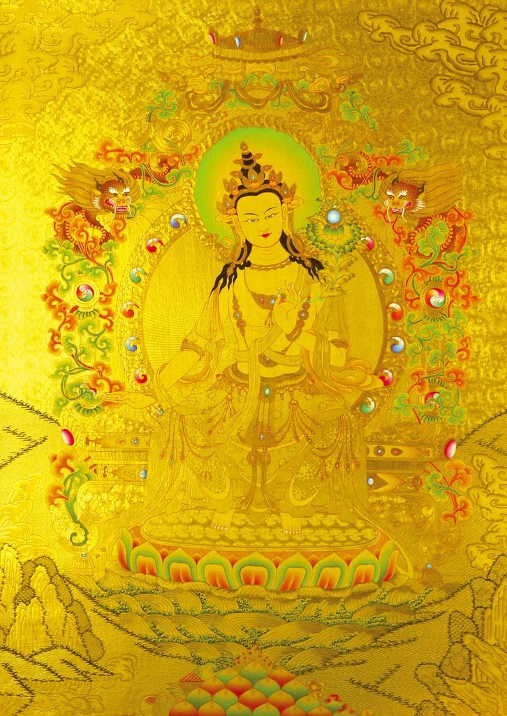 Maha Vaipulya Mahasamnipata Bhadrapala Bodhisattva Parivarta Nama Mahayana Sutra Tara
