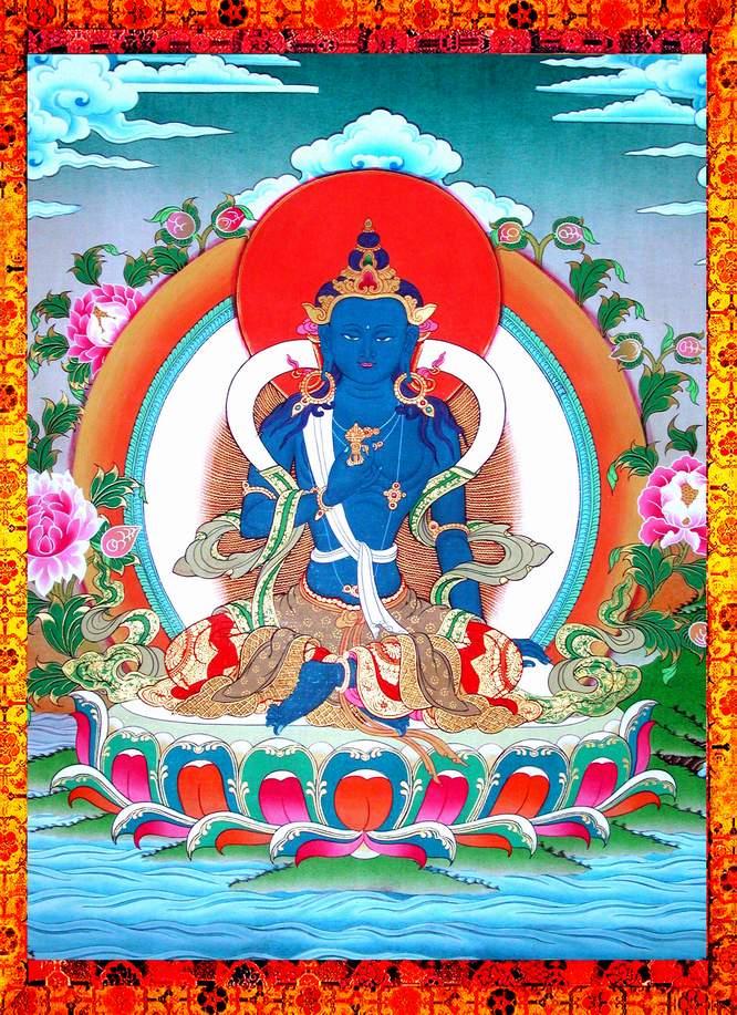 Suramgama Usnisa Sitatapatra Suttram Vajrapani_0