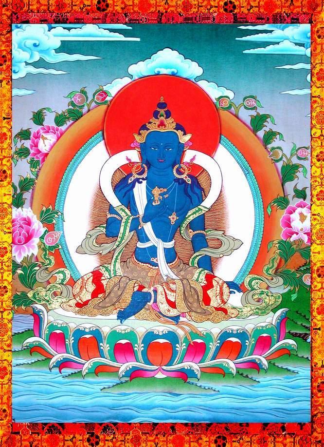 Maha Vaipulya Mahasamnipata Bhadrapala Bodhisattva Parivarta Nama Mahayana Sutra Vajrapani_0_1
