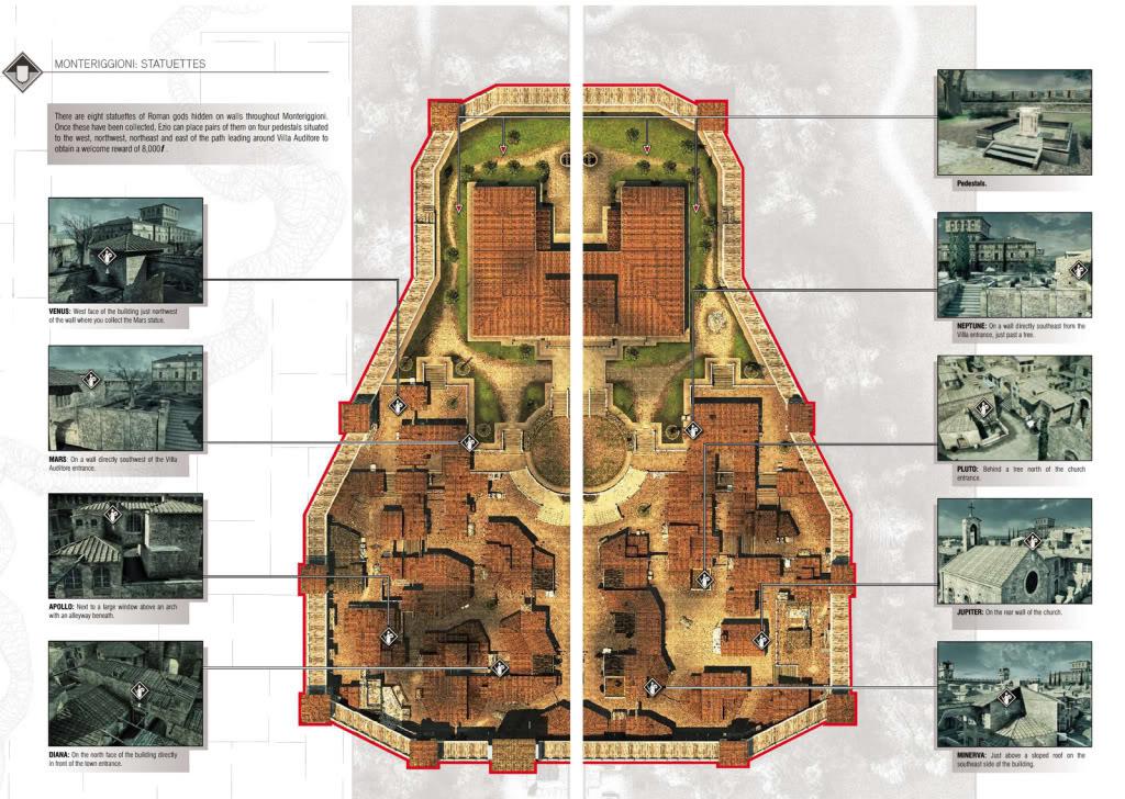 Guía de logros , trofeos y más de Assassin's Creed 2  EstatuillasdeMonteriggioni-Villa