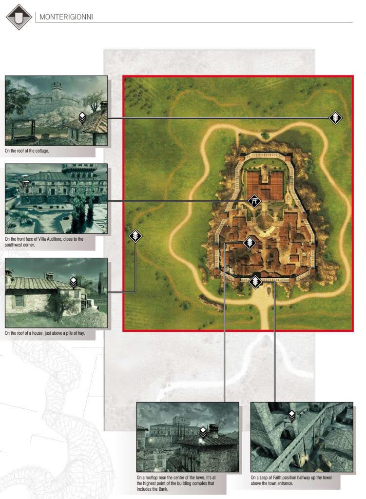 Guía de logros , trofeos y más de Assassin's Creed 2  PlumasysmbolosdeMonterigionni-Villa