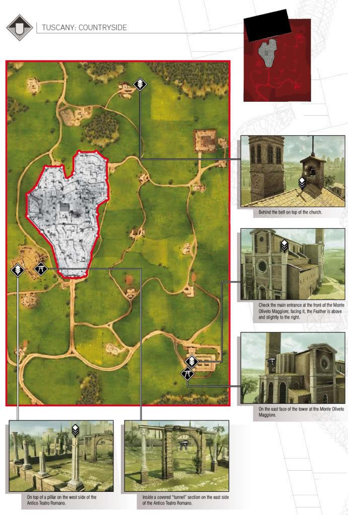 Guía de logros , trofeos y más de Assassin's Creed 2  PlumasysmbolosdeTuscany-Countryside
