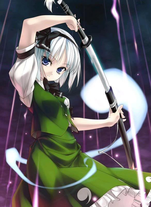 Denkou Clan (Lightning) Anime-sword
