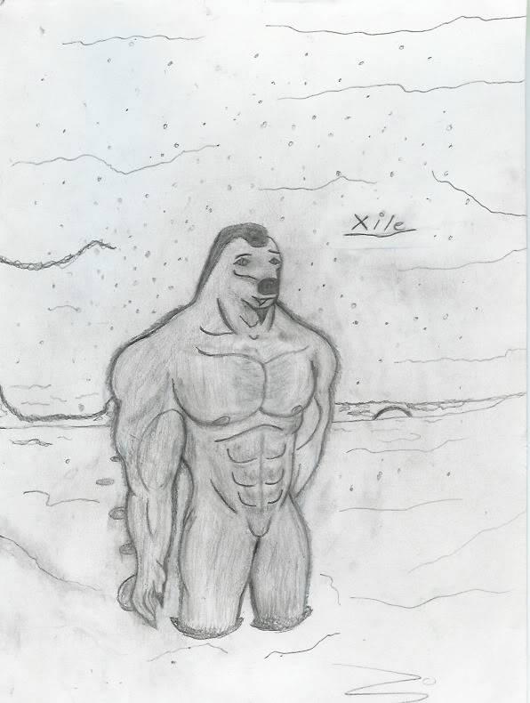 Xile, The Anthro Polar Bear-Fixed version Xile-1