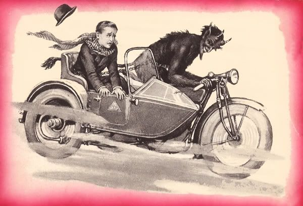 The Weird Shit thread 336_20Krampus2020sidecar