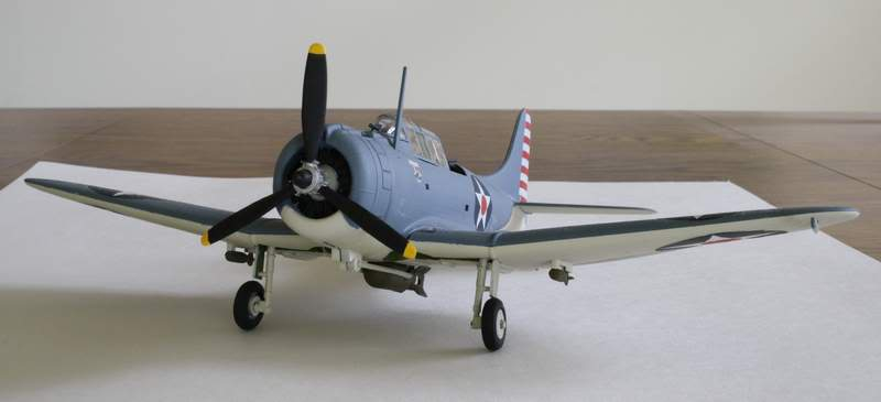 Some airplane models I have built over the years Dauntless1