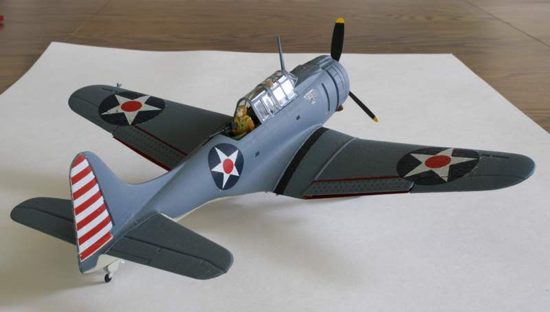 Some airplane models I have built over the years Dauntless4