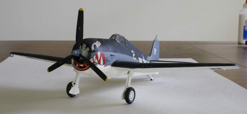 Some airplane models I have built over the years Hellcat1