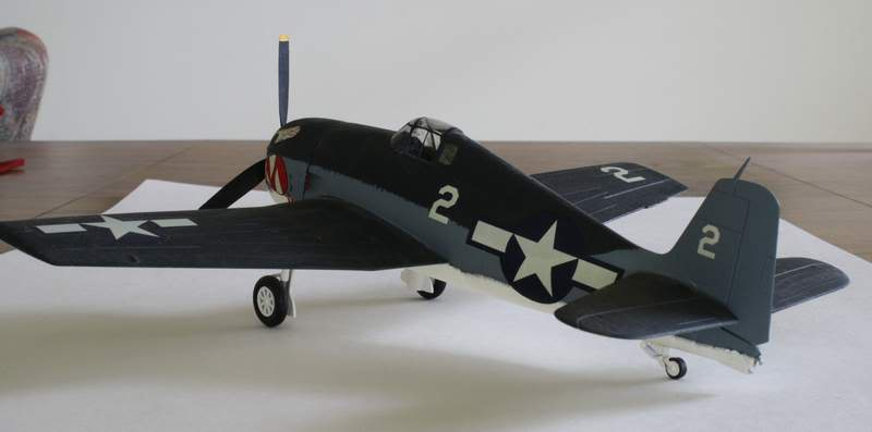 Some airplane models I have built over the years Hellcat3
