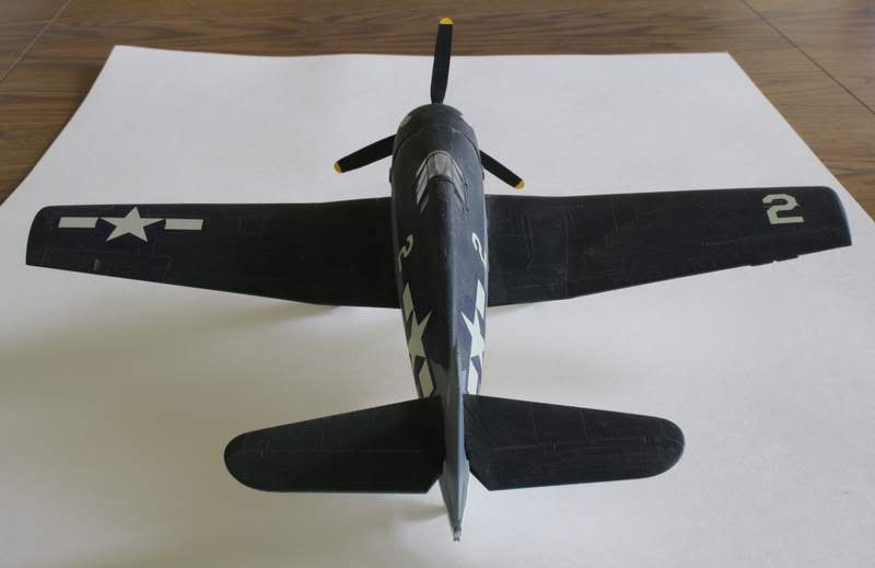 Some airplane models I have built over the years Hellcat4