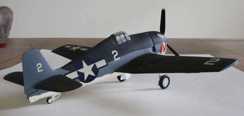 Some airplane models I have built over the years Hellcat5