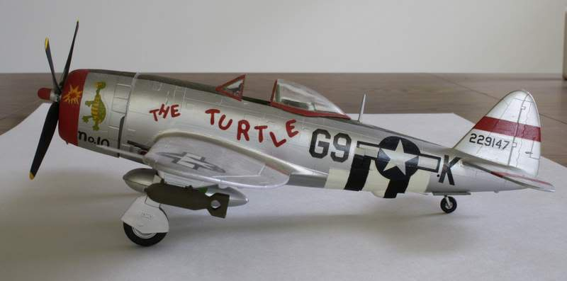 Some airplane models I have built over the years Thunderbolt2