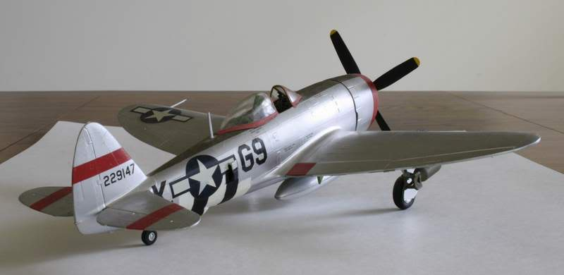 Some airplane models I have built over the years Thunderbolt4