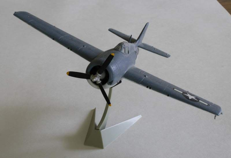 Some airplane models I have built over the years Wildcat1
