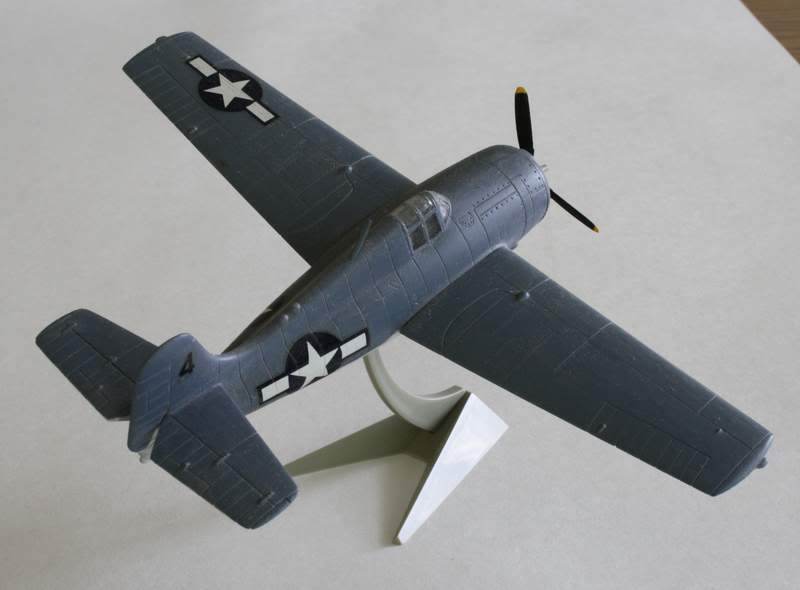 Some airplane models I have built over the years Wildcat2