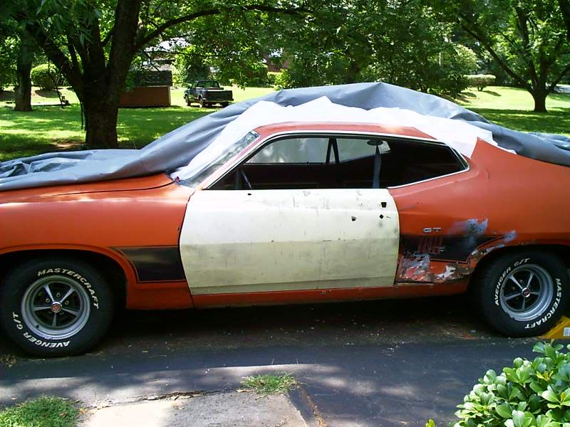 Torinocator's Back From the Dead (well almost...) 70 Torino GT Drivers_door_after