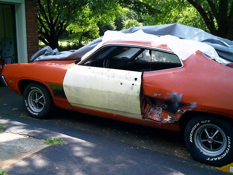 Torinocator's Back From the Dead (well almost...) 70 Torino GT Drivers_door_after_2