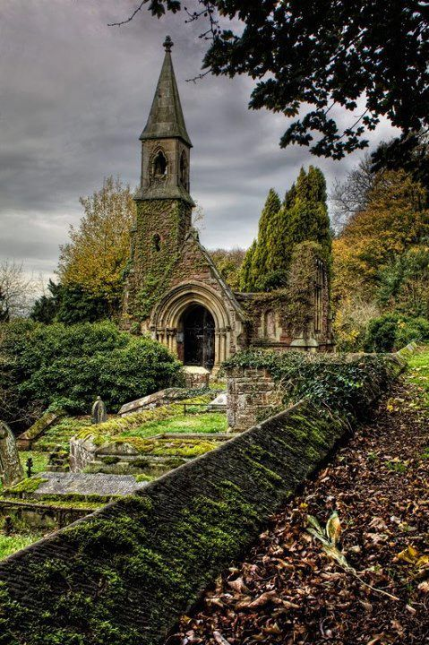 Abandoned Church and Graveyard Somerset_zpsae08cf9d