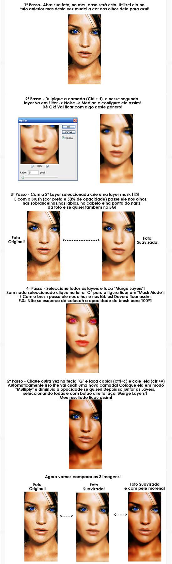 Tuto Photoshop - Suavizando E Escurecendo A Cor Fa Pele Tuto2-part2
