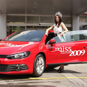 Official thread of Barbora Franekova - Miss Slovakia World 2009 Preberanie-auta