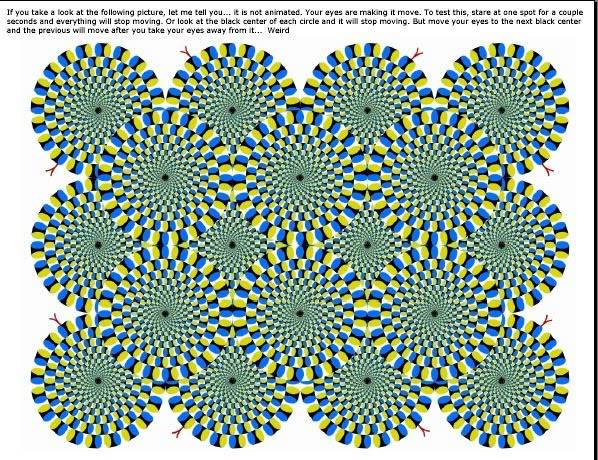 Some thing to Get you thinking Illusionone