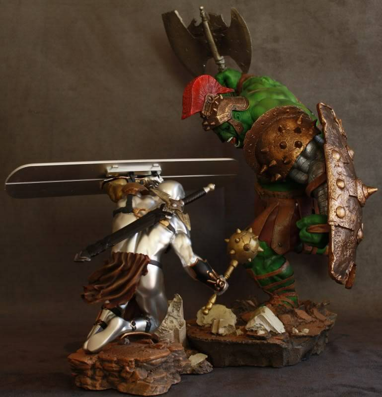 Marvel Planet Hulk Green Scar VS Silver Savage IMG_4612