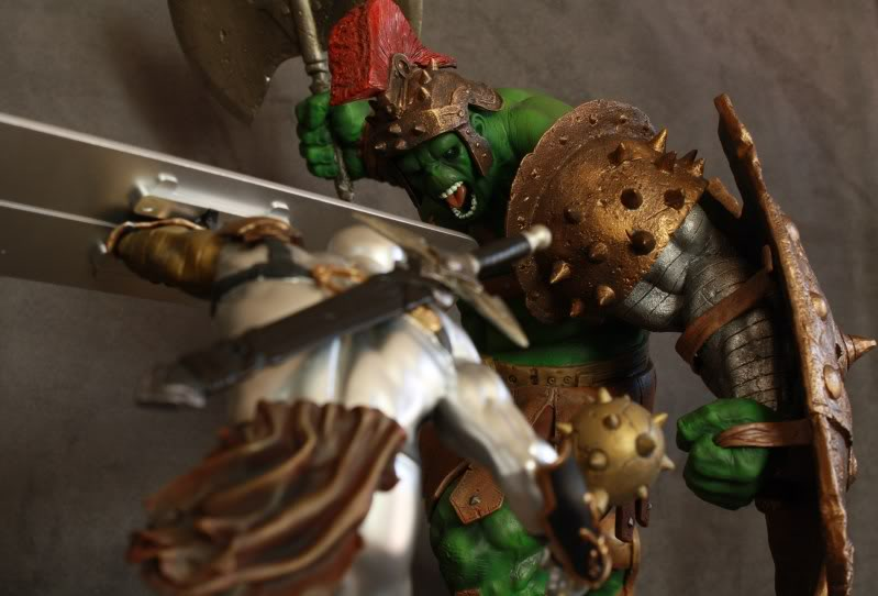 Marvel Planet Hulk Green Scar VS Silver Savage IMG_4616