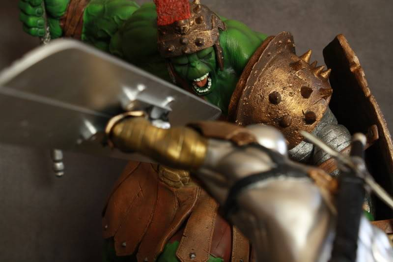 Marvel Planet Hulk Green Scar VS Silver Savage IMG_4627