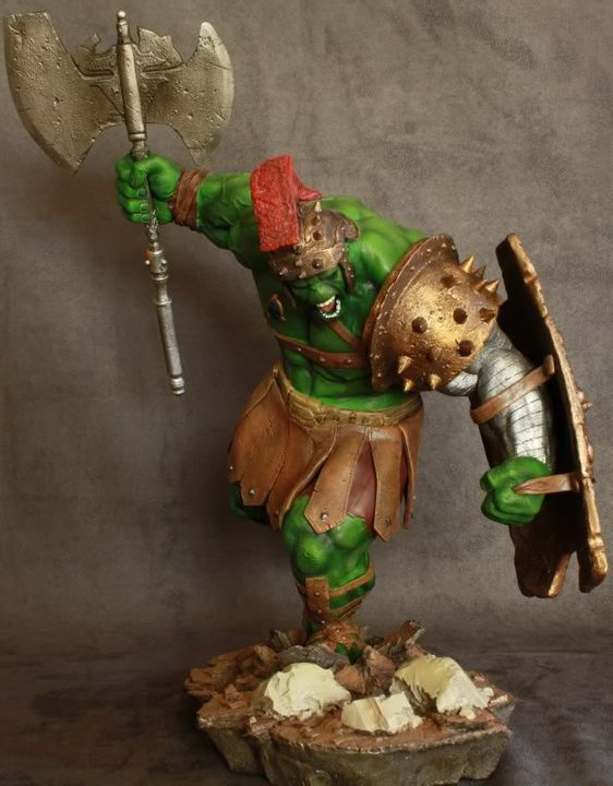 Marvel Planet Hulk Green Scar VS Silver Savage IMG_4646