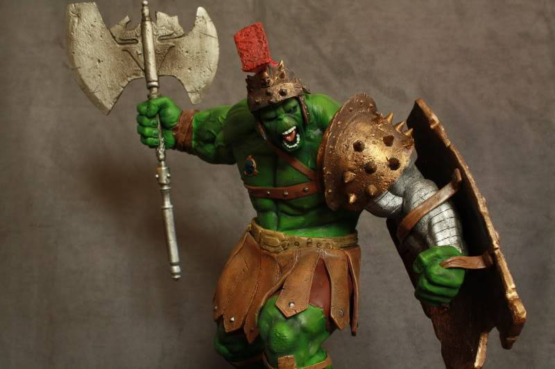 Marvel Planet Hulk Green Scar VS Silver Savage IMG_4649