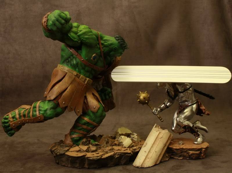 Marvel Planet Hulk Green Scar VS Silver Savage IMG_4665
