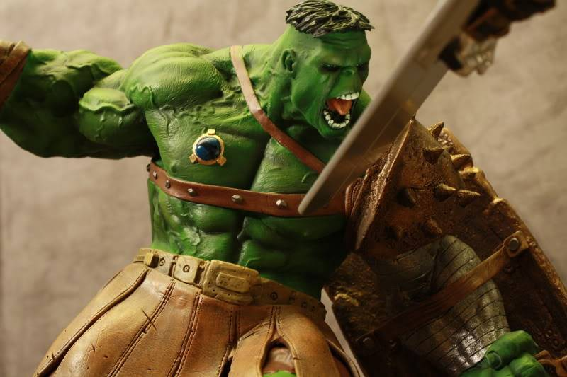 Marvel Planet Hulk Green Scar VS Silver Savage IMG_4671