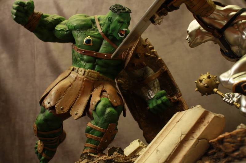 Marvel Planet Hulk Green Scar VS Silver Savage IMG_4673